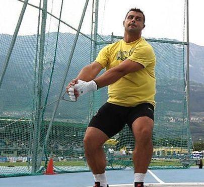 Marco Lingua ancora lontano nel martello, 76,59 al campo Saini di Milano