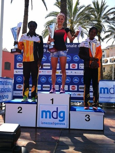 Sara Dossena domina la 13esima Mezza Maratona Internazionale di Genova