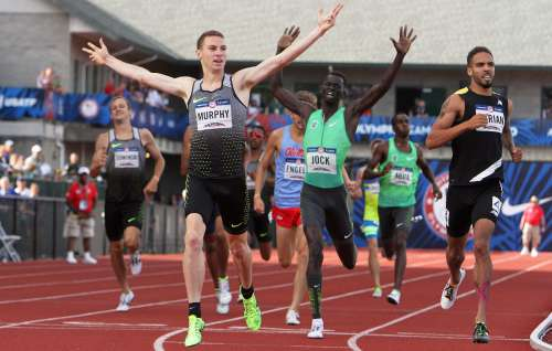 Super 800 metri negli Usa, Clayton Murphy corre in  1: 43.60