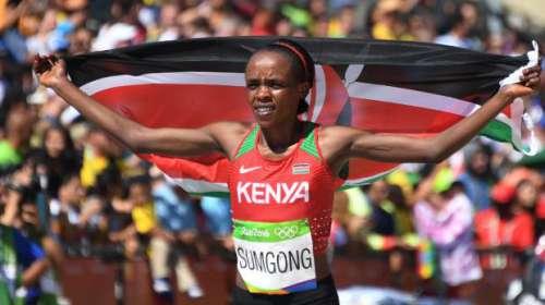 Maratona sotto schoch, positiva la campionessa olimpica di Rio
