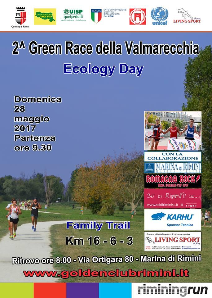 2^ GREEN RACE della Valmarecchia, domenica 28 maggio la gara