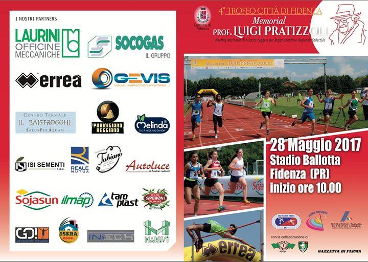 Il Live Streaming del Memorial Prof. Luigi Pratizzoli - 4° Trofeo Città di Fidenza