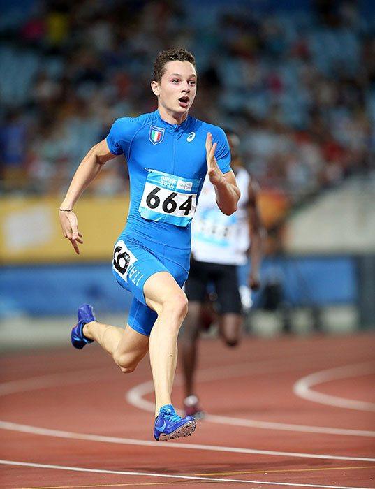 Filippo Tortu vola nei 100 metri, subito record italiano junior a Savona