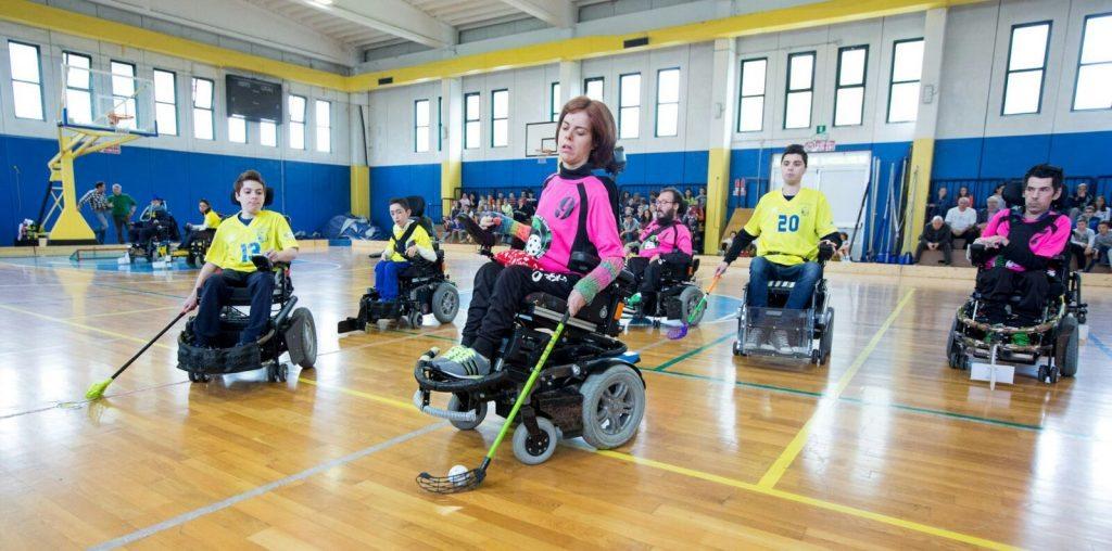 21° Giornate di Sport Cultura Solidarietà - dimostrazioni di sport integrato con studenti e disabili