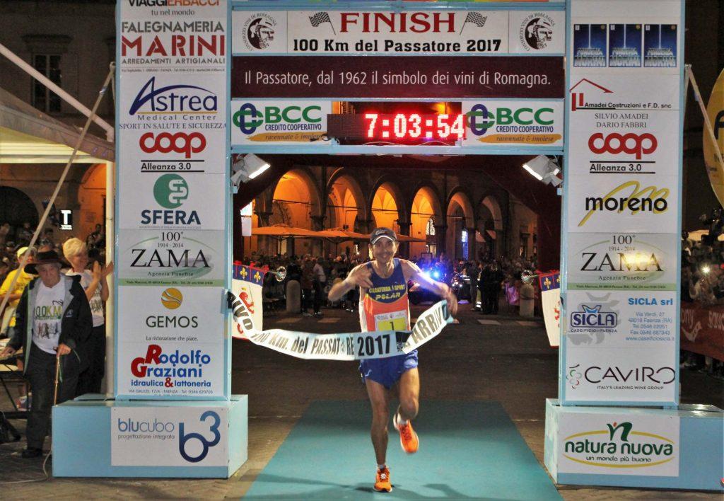Giorgio Calcaterra vince la 100km del Passatore, secondo Andrea Zambelli- di  Matteo SIMONE