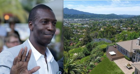Olympic medal-winning sprinter Michael Johnson's San Rafael home at 87 Brodea Way is for sale. (Photos via thomashenthorne.com)