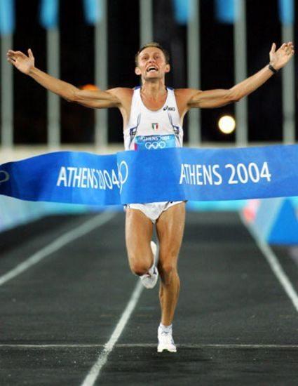 Auguri a Stefano Baldini,  storico oro alle Olimpiadi di Atene