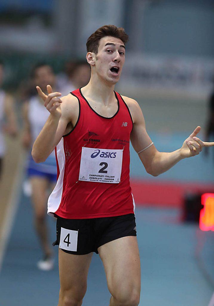 Simone Barontini bene in Belgio negli 800 metri