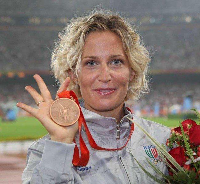Elisa Rigaudo: dopo l'annuncio del ritiro dalle gare, ha ricevuto ieri il saluto dalle Fiamme