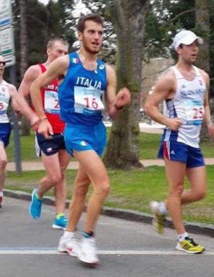 Michele Antonelli splendido terzo nella 50km di marcia in Coppa Europa