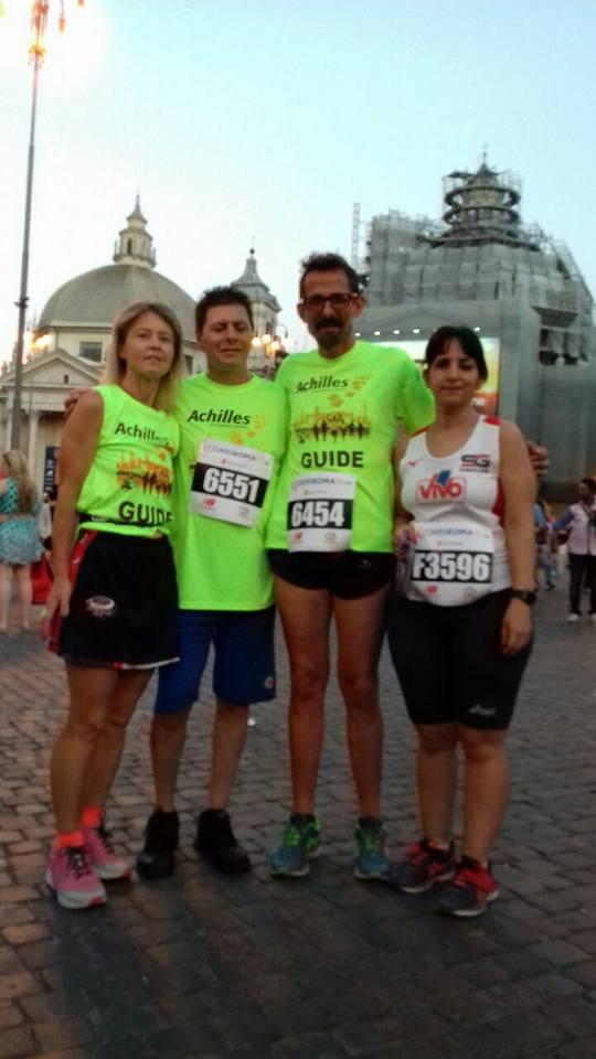 Achilles International, Uniti con un laccetto alla Corri Roma 10km- di Matteo SIMONE