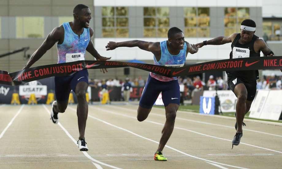 Justin Gatlin batte il giovane Coleman nella finale dei  100 metri