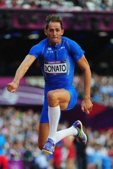 Fabrizio Donato grande atteso oggi nel triplo a Lille nei Campionati europei a squadre