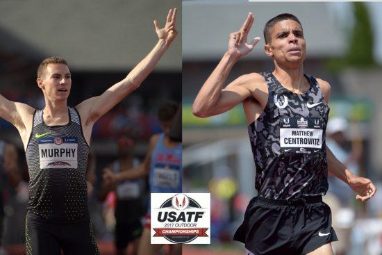 Campionati Usa Atletica (USATF): Sfida insolita nei 1500 Centrowitz-Murphy
