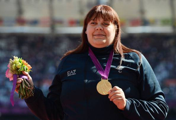 Assunta Legnante vicinissima al record Mondiale nel peso agli italiani paralimpici