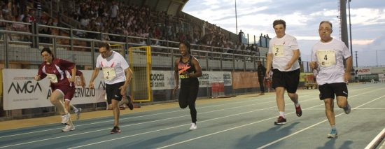 Meeting Sport Solidarietà - 100m DIS con Shelly-Ann Fraser