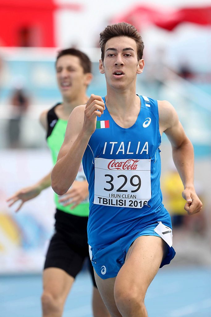 "Italiani Junior Firenze: Simone Barontini ""facile"" approda in finale negli 800 metri"