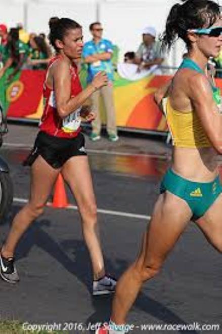 Marcia: la tunisina Chahinez Nasri batte il record africano dei 5 km.