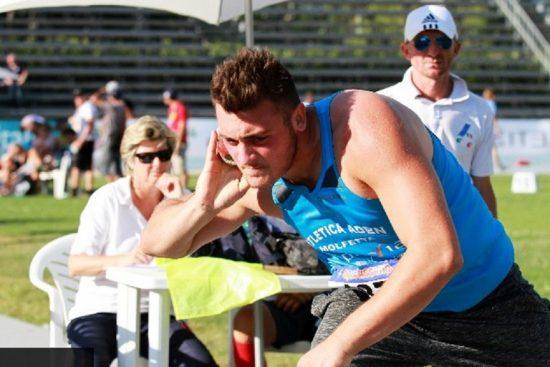 Carmelo Musci doppietta peso-disco ai campionati italiani allievi di Rieti