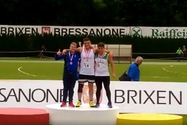 Carmelo Musci vince il peso al Brixia meeting