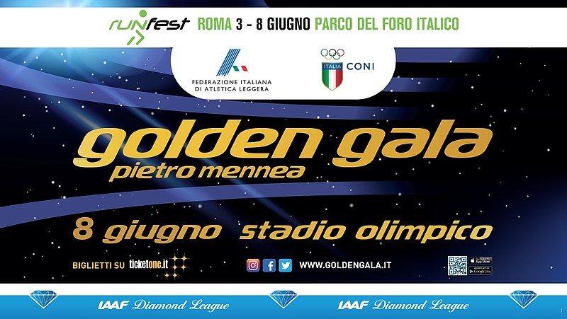 Golden Gala 2017: Ecco l'elenco ufficiale degli iscritti