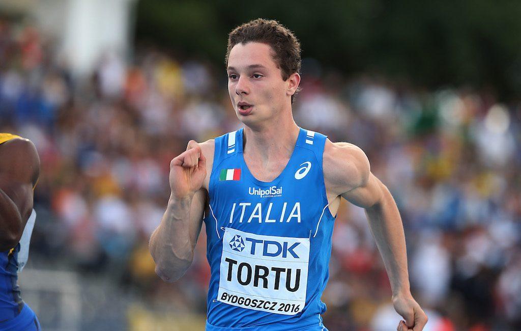 Filippo Tortu sta meglio ed è tornato a correre