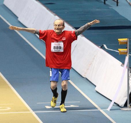 Giuseppe Ottaviani a 101 anni pronto per i Campionati Italiani Master