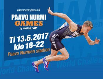 La diretta streaming del Paavo Nurmi Games 2017
