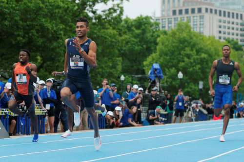 Van Niekerk vince i 200 metri  di Boston in 19.84