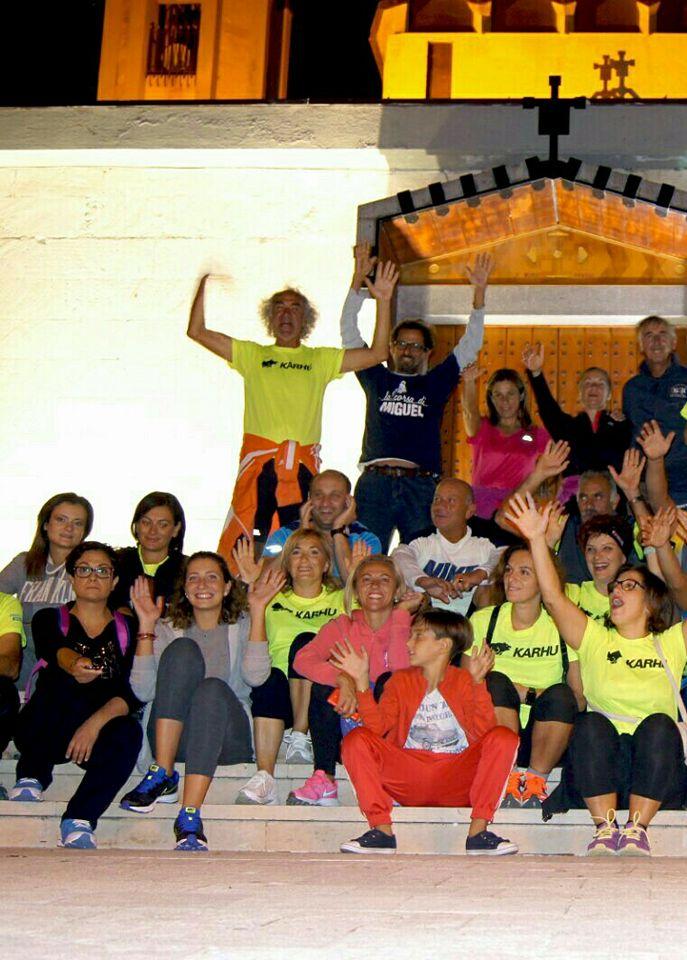 Gli ultra-camminatori del Team frizzi e lazzi Manfredonia- di  Matteo SIMONE