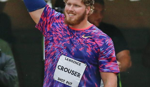 Ryan Crouser spara a 22,39 a Losanna nel peso della Diamond League