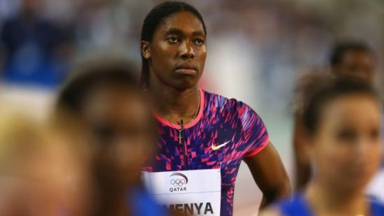 DOHA, QATAR - MAY 05: Caster Semenya of South Africa looks on prior to the start of the Women's 800 metres during the Doha - IAAF Diamond League 2017 at the Qatar Sports Club on May 5, 2017 in Doha, Qatar. (Photo by Francois Nel/Getty Images)