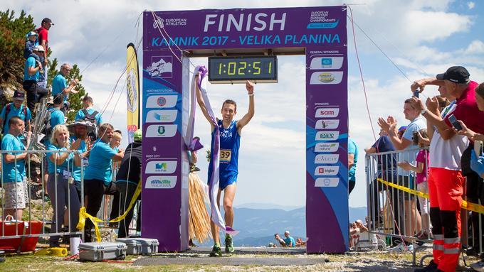 L'azzurro Xavier Chevrier è campione europeo di corsa in montagna