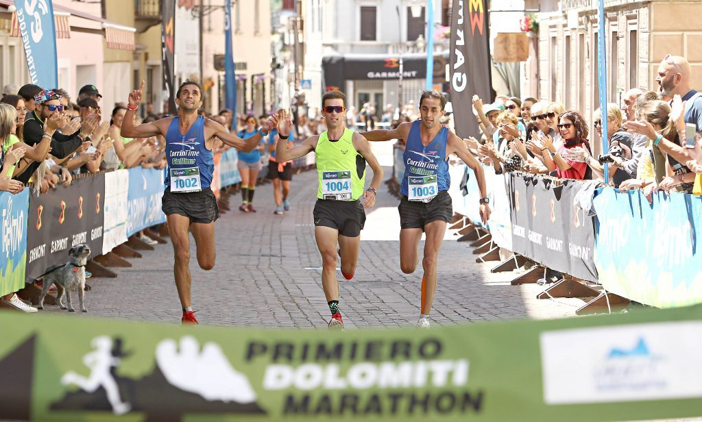 Risultati Primiero Dolomiti Marathon: Giancarlo Simion e Francesca Pretto vincono nei 42 km