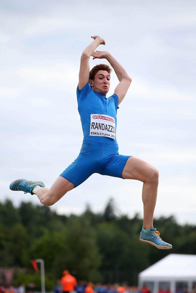 Europei under 23: Filippo Randazzo subito lontano, 8,04 miglior salto in qualifica