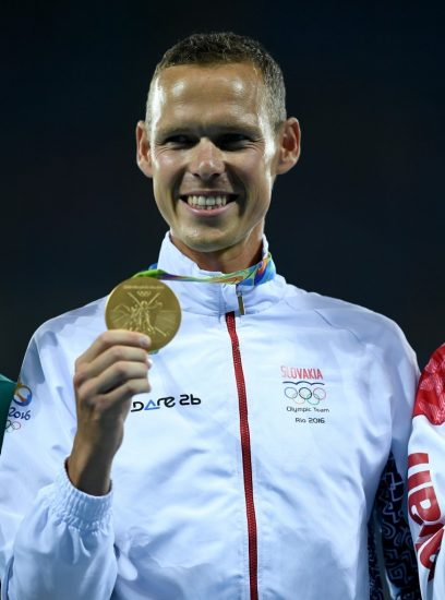 Matej Tóth with gold medal Rio 2016