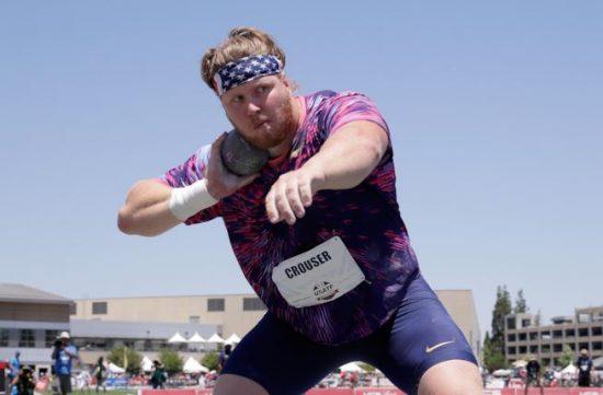 Questa sera in diretta su questo blog grande gara di getto del peso con Ryan Crouser