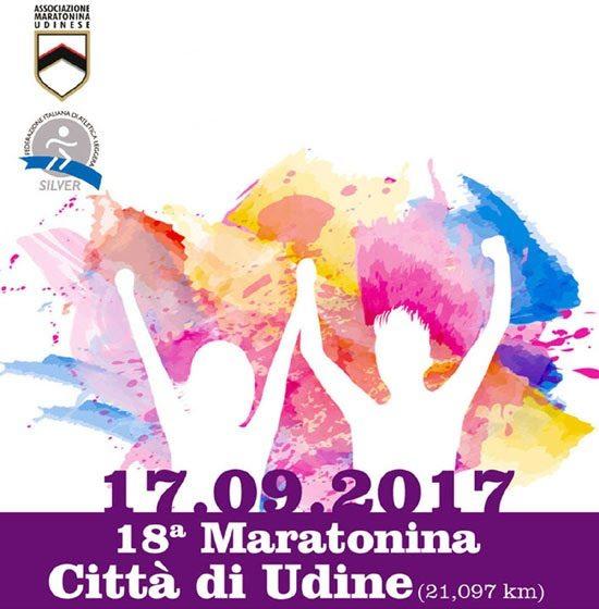 18^ Maratonina Int.le Città di Udine: iscrizioni con una promozione speciale!