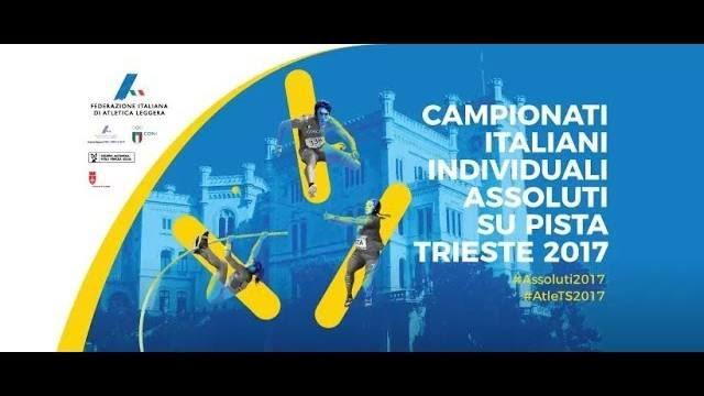 Assoluti Trieste: La diretta streaming dell'ultima giornata di gare