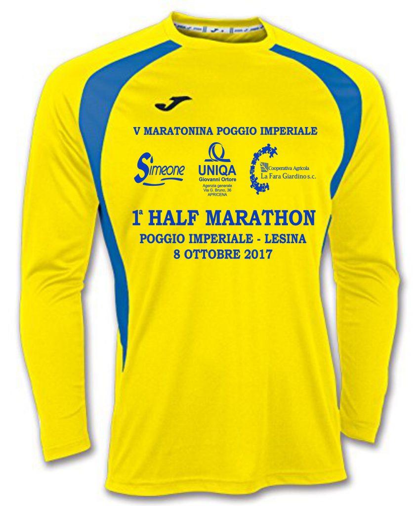 Si lavora a pieno regime per la 1° Poggio Imperiale Lesina Half Marathon