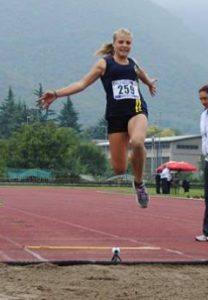 Alessia Seramondi batte il record italiano di Simona La Mantia