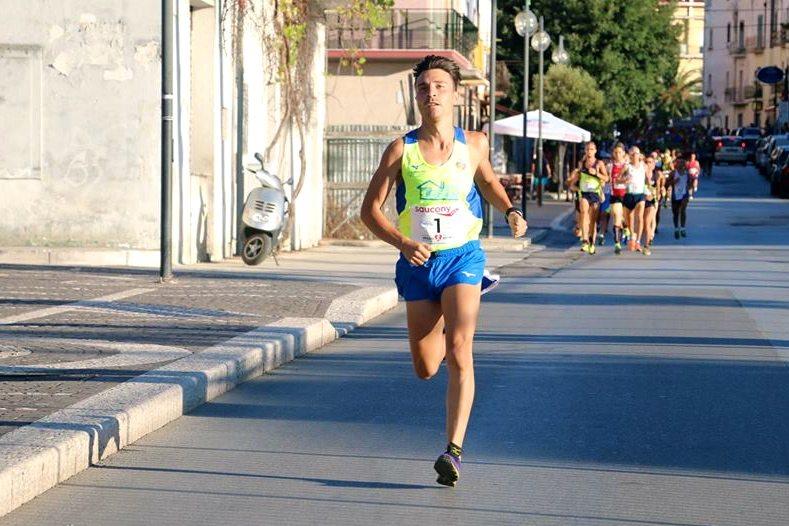 Dario Santoro con Daunia Running al Campionato Italiano di 10km su strada