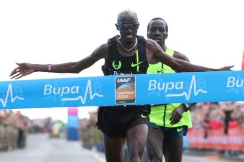 Mo Farah pronto al debutto stagionale su strada nella  Great North Run di Newcastle