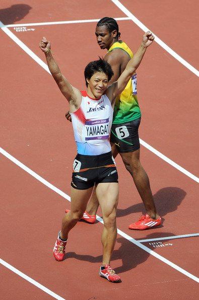 Ryota Yamagata vola nei 100 metri, 10 netti