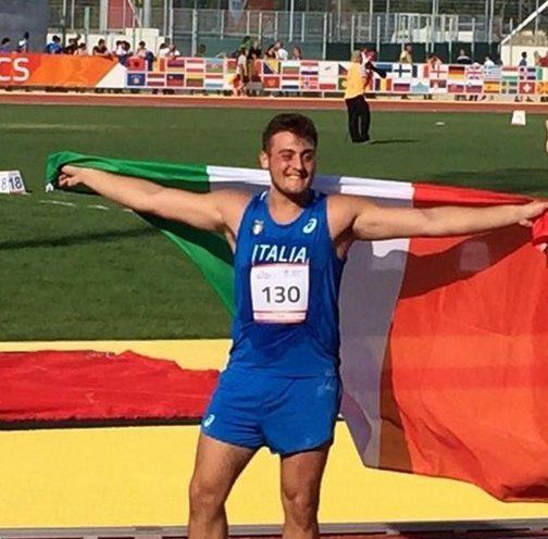 Carmelo Musci grande record italiano allievi nel disco