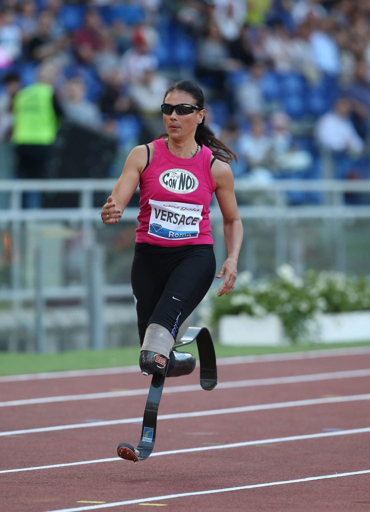 """Giusy Versace regala un """"sogno sportivo"""" ai ragazzi con disabilità"""