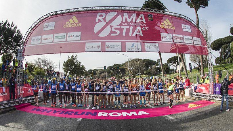 RomaOstia: tanti gli iscritti, sono già 4.234 per la corsa dell'11 marzo 2018