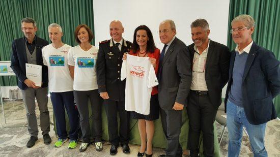L'Arma dei Carabinieri corre la 32^ Huawei Venicemarathon per la solidarietà