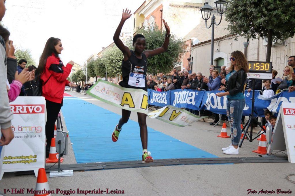 Poggio Imperiale Lesina Half Marathon, tra lago e campagne un successo non solo sportivo.