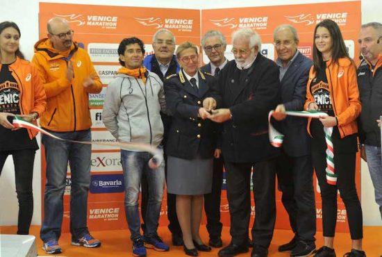 Venicemarathon: domani al via l' Exposport  Village al Parco San Giuliano di Mestre